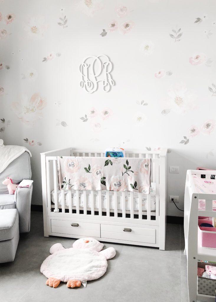 Floral Nursery Wall Decal