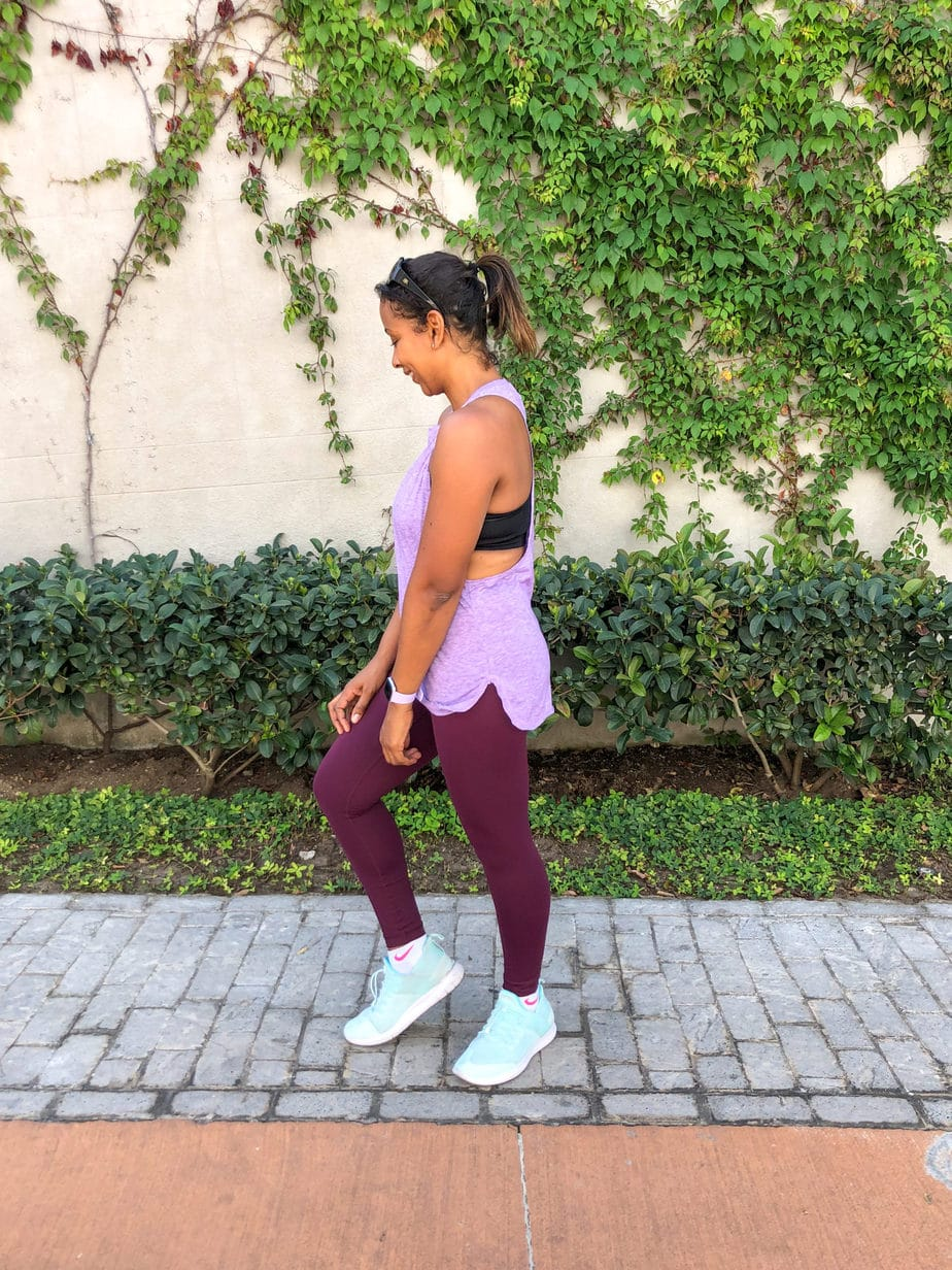 amazon leggings and muscle tank