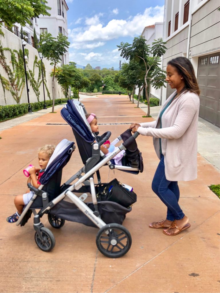 3-year-old-and-newborn-stroller
